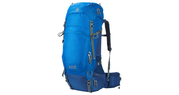 Jack Wolfskin Highland Trail 48 Hiking Pack azure blue